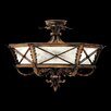 Fine Art Lamps Newport Round Semi Flush Ceiling Lighting