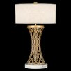 "Fine Art Lamps Allegretto Gold 32"" H Table Lamp with Drum Shade"