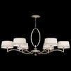 Fine Art Lamps Allegretto Gold 6 Light Chandelier