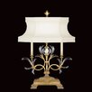 """Fine Art Lamps Beveled Arcs 32"""" H Table Lamp with Bell Shade"""