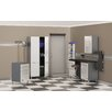 Ulti-MATE Ulti-MATE Storage 7' H x 11' W x 2' D 6-Piece Cabinet System with Workstation