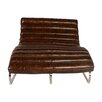 Lazzaro Leather Perici Leather Double Chaise Lounge