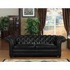 Lazzaro Leather Victoria Leather Sofa