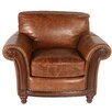 Lazzaro Leather Alexus Leather Arm Chair