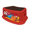 Ginsey 1-Step Plastic Disney Cars Step Stool with 200 lb. Load Capacity