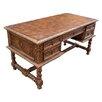 New World Trading Colonial Solomon Executive Desk