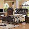 InRoom Designs Upholstered Panel Bed