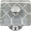 Atlas Homewares Quatrefoil  Square Knob