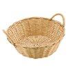 Paderno World Cuisine Dual-handled Round Polyrattan Bread Basket (Set of 6)
