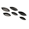 "Paderno World Cuisine 4.75"" Non-Stick Plain Boat Mold (Set of 7)"