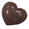 "Paderno World Cuisine 1.5"" Heart Chocolate Mold (Set of 3)"