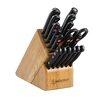 Wusthof Gourmet 18 Piece Knife Block Set in Beech