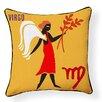Naked Decor Virgo Indoor/Outdoor Throw Pillow