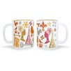 Naked Decor Paris Mugs (Set of 2)
