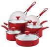 SilverStone Ceramic CXi 12 Piece Nonstick Aluminum Cookware Set