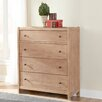 American Woodcrafters Natural Elements 4 Drawer Chest