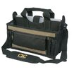 "Custom Leathercraft 16"" 15 Pocket Center Tray Tool Bag"