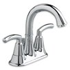 American Standard Tropic Centerset Bathroom Sink Faucet with Double Lever Handles