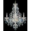 Schonbek Olde World 5 Light Crystal Chandelier