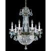 Schonbek La Scala Empire 9 Light Crystal Chandelier