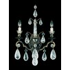"Schonbek Versailles Rock Crystal 21.5"" Two Light Wall Sconce"