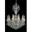 Schonbek La Scala 10 Light Crystal Chandelier