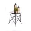 "RTA Home And Office Haven 30"" Mirrored End Table"