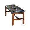 Steve Silver Furniture Lakewood Upholstered Kitchen Bench
