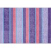 G.A. Gertmenian & Sons Flower Stripe Purple Area Rug