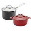 Anolon Nouvelle Copper 4-Piece Non-Stick Starter Cookware Set