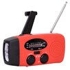 Buffalo Tools Sportsman Series Rechargeable Weather Radio with Hand Crank & Solar Power