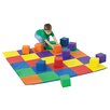 The Children's Factory Joey's Matching Mat and Block Set