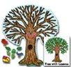 Frank Schaffer Publications/Carson Dellosa Publications Big Tree Kid-drawn Bulletin Board Cut Out Set
