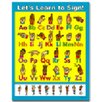 Frank Schaffer Publications/Carson Dellosa Publications Lets Learn to Sign Chart (Set of 3)