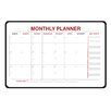 Ghent Monthly Planner Whiteboard, 2' x 3'