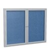 Ghent 2 Door Outdoor Enclosed Bulletin Board
