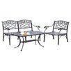 Crosley Sedona 3 Piece Lounge Seating Group