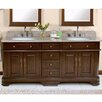 "Lanza Perkin 72"" Double Bathroom Vanity Set"