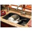 "Swanstone Swanstone Classics 32"" x 21"" Double Bowl Kitchen Sink"