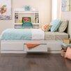 Prepac White Monterey Panel Customizable Bedroom Set