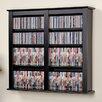 Prepac Floating Wall Mounted Multimedia Storage Rack