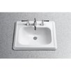 Toto Promenade Self Rimming Bathroom Sink