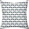 Checkerboard, Ltd Beep Beep Throw Pillow