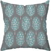 Checkerboard, Ltd Guinea Feathers Outdoor Throw Pillow
