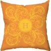 Checkerboard, Ltd Personalized Monogram Throw Pillow