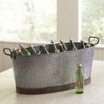 Birch Lane Galvanized Oval Beverage Tub