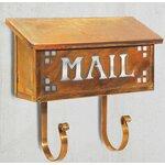 Pasadena Wall Mounted Mailbox With Rain Overhang Wayfair