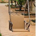 International Caravan Chelsea Wicker Porch Swing Amp Reviews