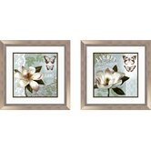 Botanical 2 Piece Garden Framed Graphic Art