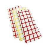 Heavy Weight Check Kitchen Dish Towel (Set of 6)